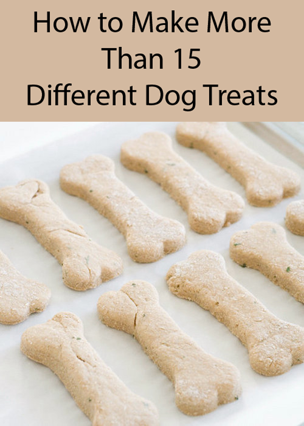 Easy Two-Ingredient Homemade Dog Treats