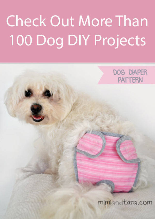 Pattern For Dog Diapers