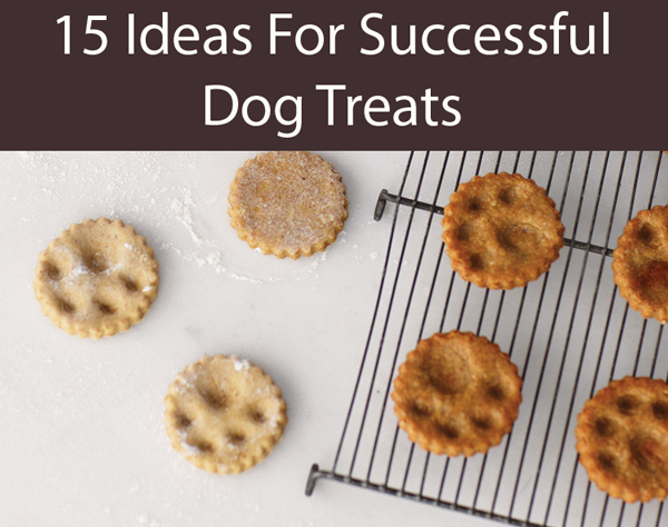 Paw-Print Dog Treats