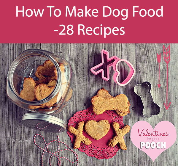 How To Make Dog Food -28 Recipes