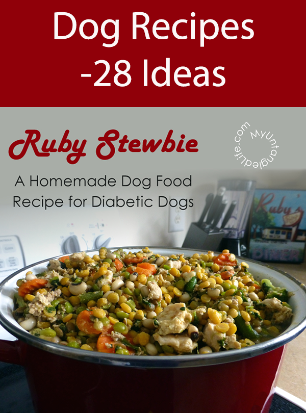 Dog Recipes -28 Ideas
